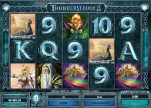 Игровой автомат слот Thunderstruck II - Удар Грома 2