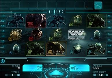 Игровой автомат слот Aliens играть бесплатно