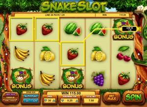 Игровой автомат слот SnakeSlot - Змея онлайн
