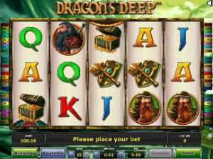 Игровой автомат слот Dragons deep - Бездна драконов