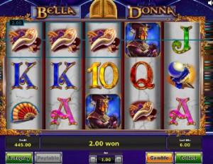 Игровой автомат Bella Donna - Белла Донна онлайн