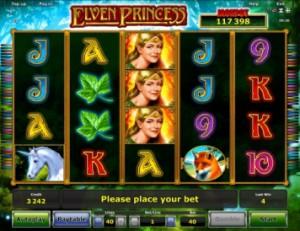Игровой автомат слот Elven Princess - Принцесса эльфов