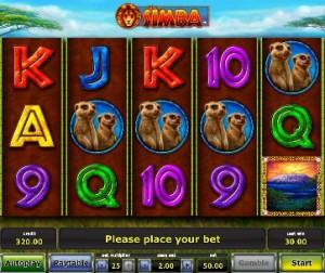 Игровой автомат слот African Simba - Африкансий Симба