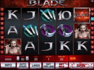 Игровой автомат слот Blade 2 - Блейд