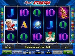 Игровой автомат слот Reel Attraction - Притяжение барабанов
