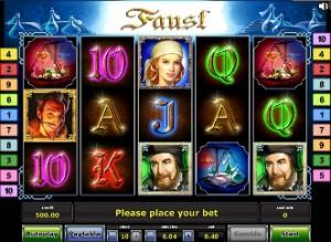 Игровой автомат слот Faust - Фауст онлайн